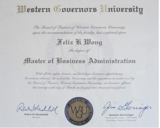 MBA hecho en 4.5 meses gracias a un buen plan de estudios