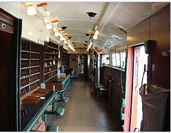El vagón postal aceleró el desarrollo de la educación a distancia