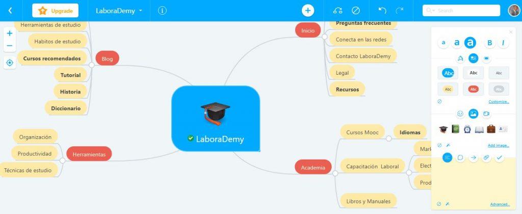 MindMeister: aplicaciones para estudiar