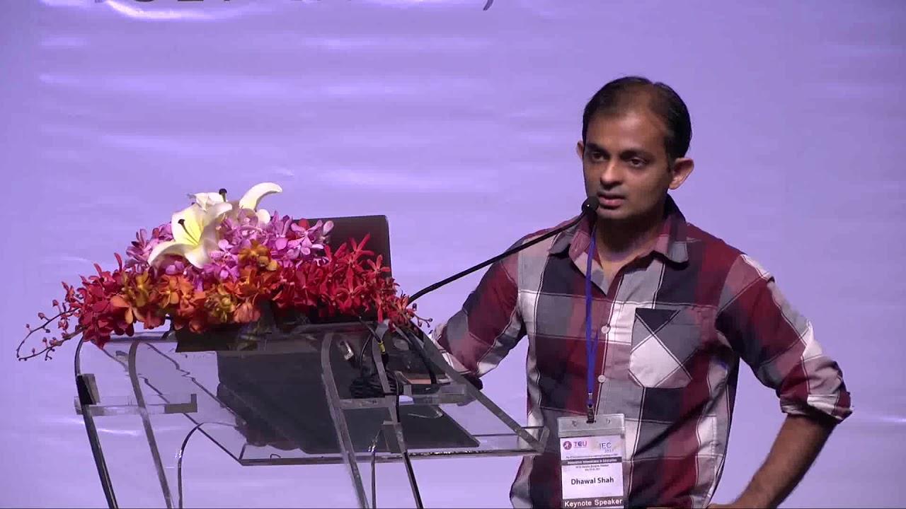 Dhawal Shah habla sobre la evolución de los MOOC