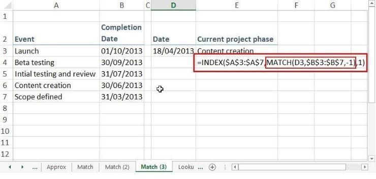 El índice es una función que optimiza el trabajo de la búsqueda de información en Excel.
